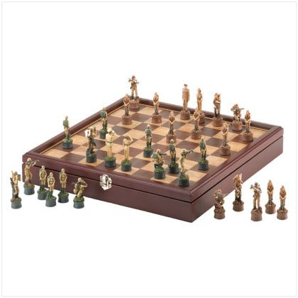 NEW! Army Chess Set
