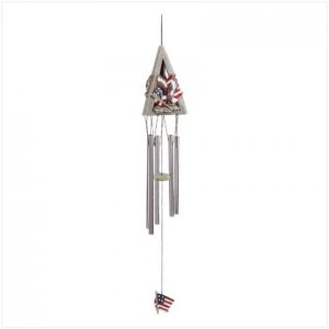 Patriotic Eagle Windchime