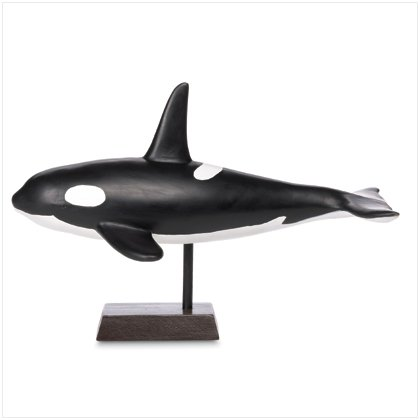 NEW! Orca Whale Figurine