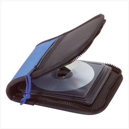 Zippered CD Case