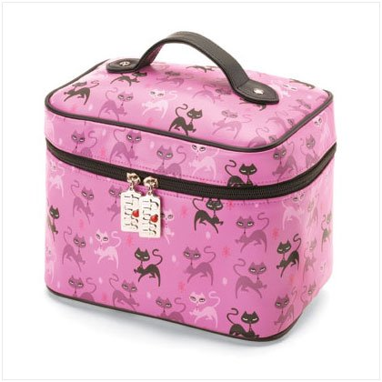 NEW! Kitty Train Case