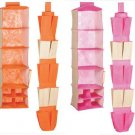 NEW! Orange or Pink Closet Organizers