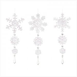 NEW! Crochet Snowflake Ornaments