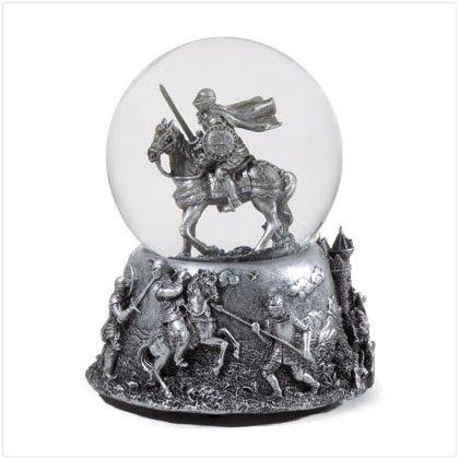 Medieval Knight Snowglobe