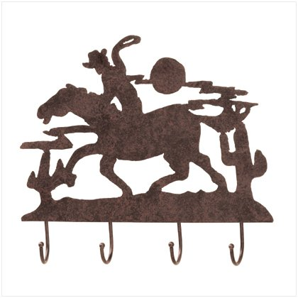 NEW! Metal Cowboy Wall Hooks