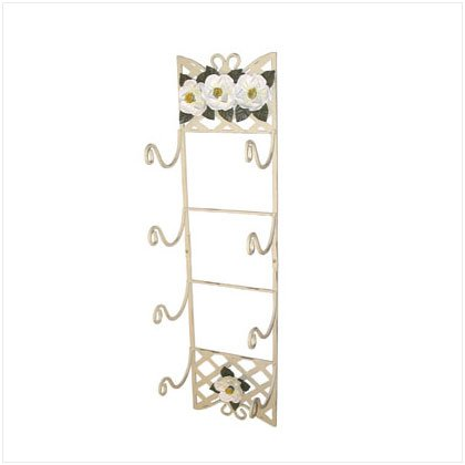 Magnolia Lattice Towel Holder