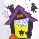 Stain Glass Halloween House