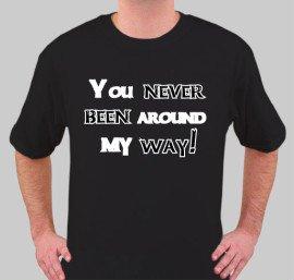 Never been...