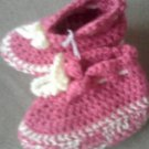 Strawberry Shortcake Baby Booties