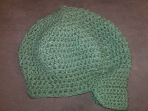 Women's Crochet Brimmed Caps