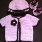 Sugar and Spice Baby Layette Set- Special Order