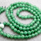 Tibetan Buddhist 108 Jade Beads Prayer Mala Necklace  6mm  ZZ020
