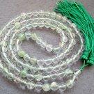 Tibet Buddhist 108 Watermelon Stone Beads Prayer Mala Necklace 8mm  ZZ082