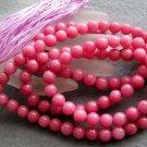 Tibet Buddhist 108 Red Jade Beads Prayer Mala Necklace 8mm  ZZ117