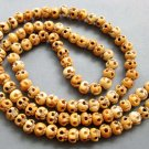 Tibet Buddhist 108 Ox Bone Skull Beads Prayer Mala Necklace  ZZ127