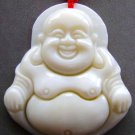 Sea Shell Tibet Buddhist Happy Fortune Buddha Amulet Pendant 35mm*30mm  T0730