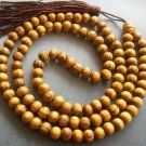 7mm 108 Wood Beads Tibet Buddhist Prayer Meditation Mala  T1692