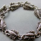 Alloy Metal Scorpion Beads Bracelet  T1862