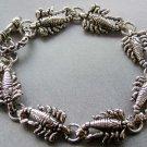 Alloy Metal Scorpion Beads Bracelet  T1862