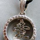 Alloy Metal World AI Love Pendant Necklace 25mm*25mm  T1882
