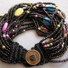 Rice Glass Beads Strand Bracelet  T1941