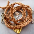 Hand Knited Vintage Style Disney Bracelet With Pendant  T1971
