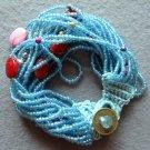 Rice Glass Beads Strand Bracelet  T1997