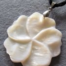 Sea Shell Flower Pendant 38mm*38mm  T2199