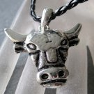 Alloy Metal Ox Cow Head Pendant 42mm*40mm  T2209