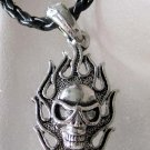 Alloy Metal Skull Pendant 40mm*20mm  T2210