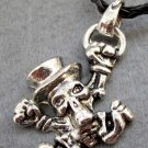 Alloy Metal Skeleton Pendant 40mm*30mm  T2353