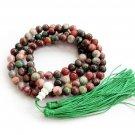 8mm 108 Jade Beads Tibet Buddhist Prayer Mala Necklace  ZZ175