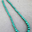 Imitate Peacock Stone Beads Necklace  T2525