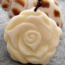 Natural Sea Shell Flower Pendant 37mm*36mm  T2544