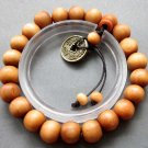 10mm Wood Beads Budddhist Prayer Wrist Mala Bracelet  T2594