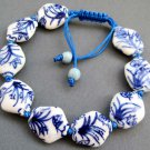 Porcelain Grass Butterly Knot Beads Bracelet  T2602