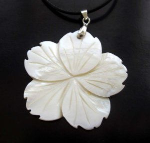 Sea Shell Flower Pendant 39mm*39mm  T2650