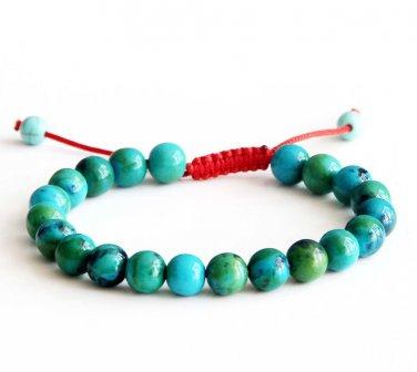 8mm Phoenix Stone Beads Bracelet  T2835