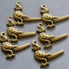 20Pcs Alloy Metal Bird Pendant Beads Finding 21mm*17mm  ja0019