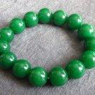 12mm Malay Jade Beads Tibet Meditation Yoga Bracelet  T0490
