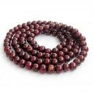 8mm 108 Wood Beads Tibet Buddhist Prayer Necklace FO  ZZ231