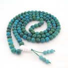 8mm 108 Jade Beads Tibet Buddhist Prayer Meditation Mala Necklace  ZZ170