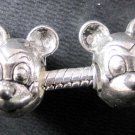 15Pieces Alloy Metal Mickey Mouse Head Loose Beads DIY Accessories Finding 14mm*5mm  ja0080