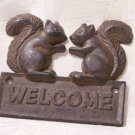 Squirrel Welcome Plaque