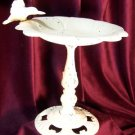 Cast Iron White Birdbath