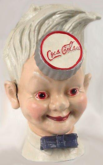Cast Iron Coke Cola Sprite Reproduction Bank