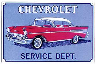 Chevy Service Dept