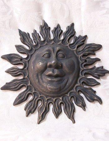 Cast Iron Sun Face