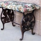 Angel Cast Iron Bench