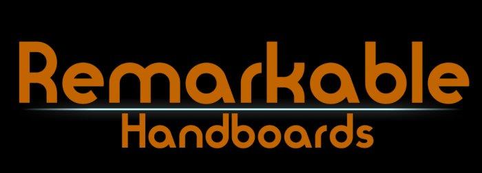 Remarkable Handboard logo sticker